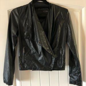 "Vegan ""leather"" jacket"